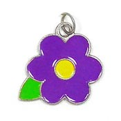 Purple Posie Charm