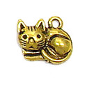 Kitty Charm Gold