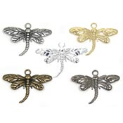 Dragonfly Charms Pick Your Plating