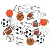 Clearance Sports Charm Lots IRREGULARS