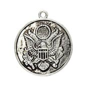 USA Army Seal Charm