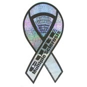 Cure MS Awareness Ribbon Magnet