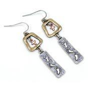 Footprints Hidden Serenity Earrings