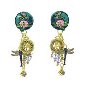 Dragon Ears Dragonfly Earrings By Lunch At The Ritz LATR