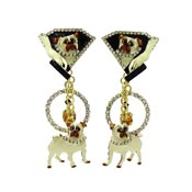 Pair Of Pugs Earrings By Lunch At The Ritz LATR