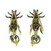 Tiger Beetles Earrings By Lunch At The Ritz LATR