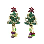 Christmas Crepes Earrings By Lunch At The Ritz LATR