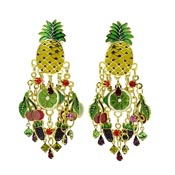 Fruit Salad Earrings By Lunch At The Ritz LATR