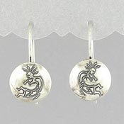 Kokopelli Fishhook Earrings