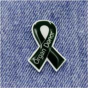 Handcrafted Organ Donor Awareness Ribbon Pin
