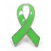 Priced Right Lime Green Ribbon Pin