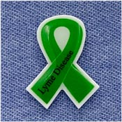 Lyme Disease Awareness Ribbon Pin