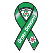 Organ Donation Awareness Ribbon Magnet