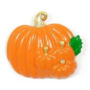 Pumpkin Patch Pin Or Pendant