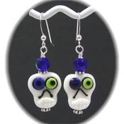 Silly Skull Earrings