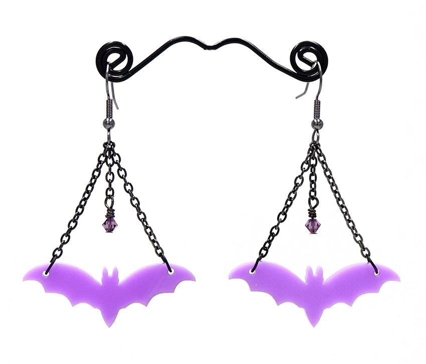 Dark Purple Bat