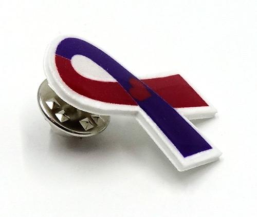 Chd Awareness Ribbon Pin