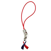 Red And Blue Awareness Ribbon Accessory Charm