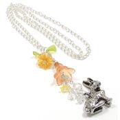 Bunny In The Garden Necklace
