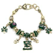 Irish Slider Bead Bracelet