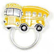 School Bus Glasses or ID Badge Holder