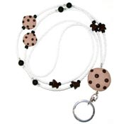Chocolate Chip Cookies Lanyard