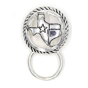 Texas Glasses or ID Badge Holder Pin