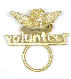 Volunteer Angel Glasses or ID Badge Holder