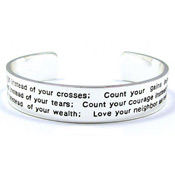 Count Your Blessings Cuff