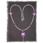 Dragonflies in Love Necklace