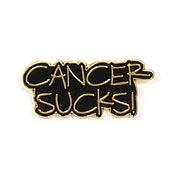 Cancer Sucks Tie Tack or Lapel Pin