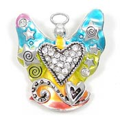 Rainbow Angel Pendant