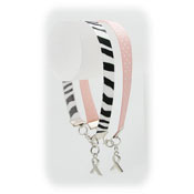 Real Ribbon Awareness Bracelet - Pick Your color