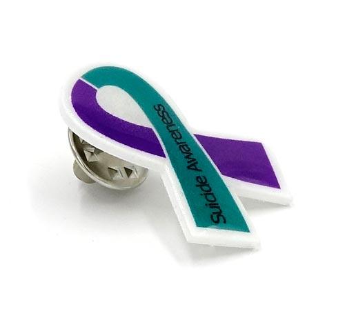 Suicide prevention ribbon color