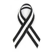 Vaccine Danger Awareness Ribbon Pin