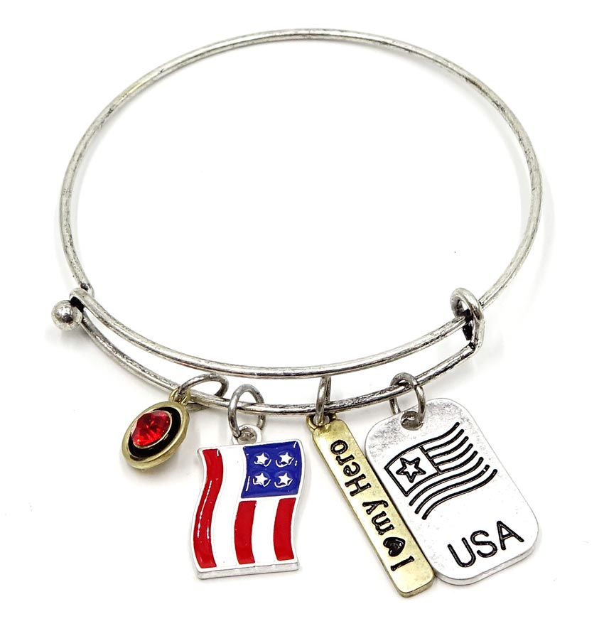 I Love My Hero Bracelet