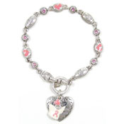 Fancy Pink Make A Difference Bracelet