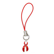 Red Ribbon Accessory Charm