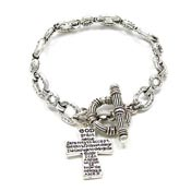 Serenity Prayer Toggle Bracelet
