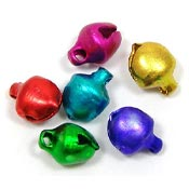 6mm Jingle Bells In Jewel Tone Colors