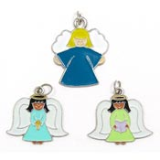 Colorful Angel Charms