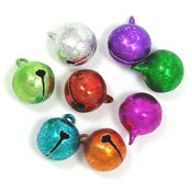 Ice Crystals Jingle Bells 14mm