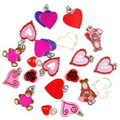 Clearance Love And Hearts Charm Lots IRREGULARS
