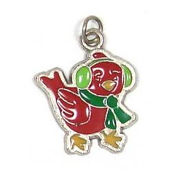 Christmas Cardinal Charm