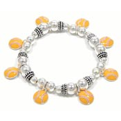 Awesome Softball Charm Bracelet