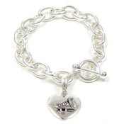 Cheerleading Toggle Bracelet