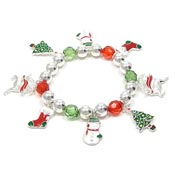Joy Of Christmas Charm Bracelet