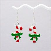 Little Candy Cane Earrings