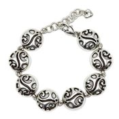 Brighton Circles And Scrollwork Bracelet