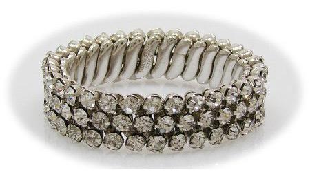 Vintage Rhinestone Expansion Bracelet